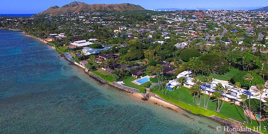 Kahala Avenue Luxury Oceanfront Estates