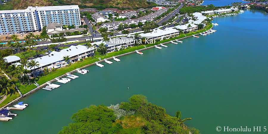 Mawaena Kai Townhomes - Drone Photo