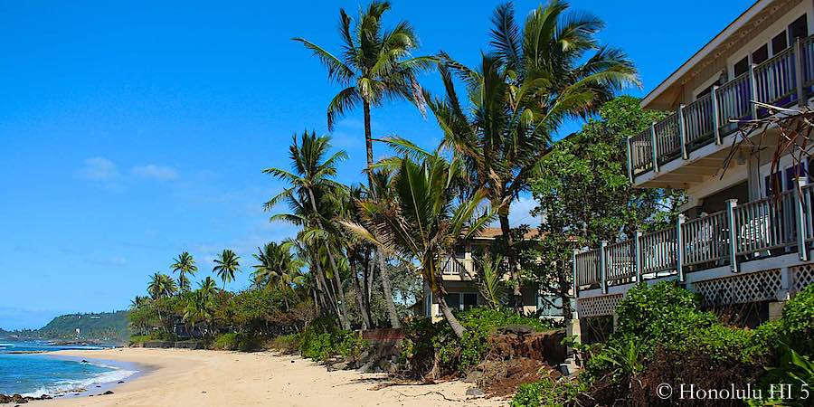 Beach Front Homes on Oahu's North Shore