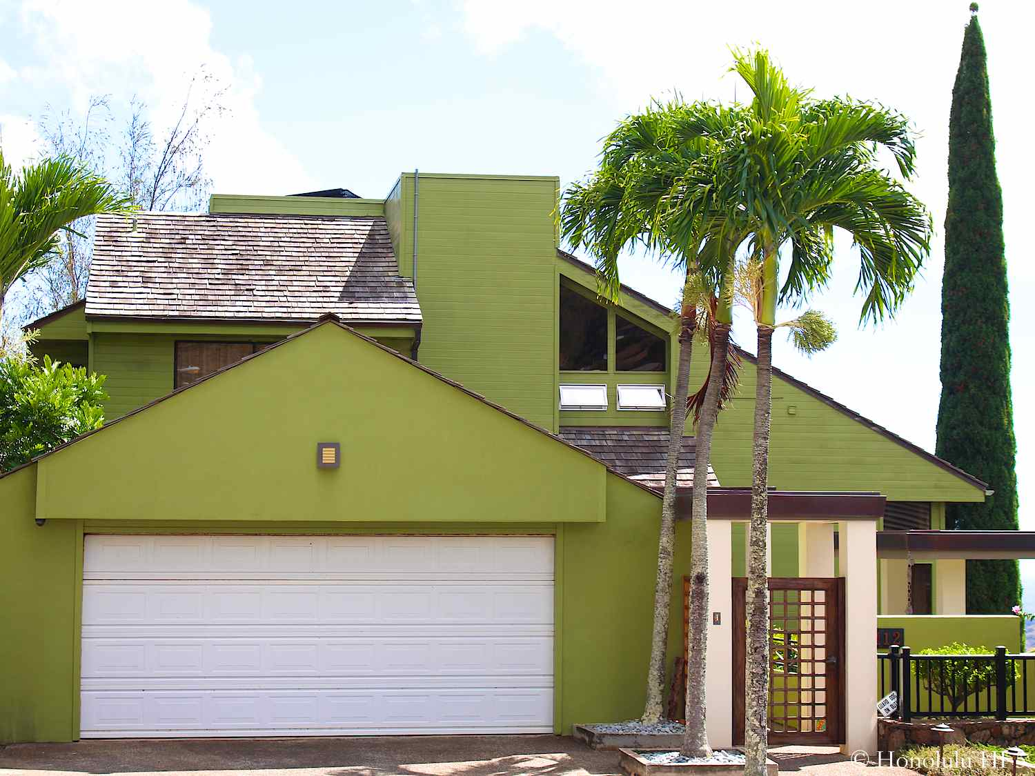 Green Mariners Valley Home in Hawaii Kai