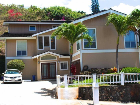 Two Story Brown Kamehame Homes in Hawaii Kai