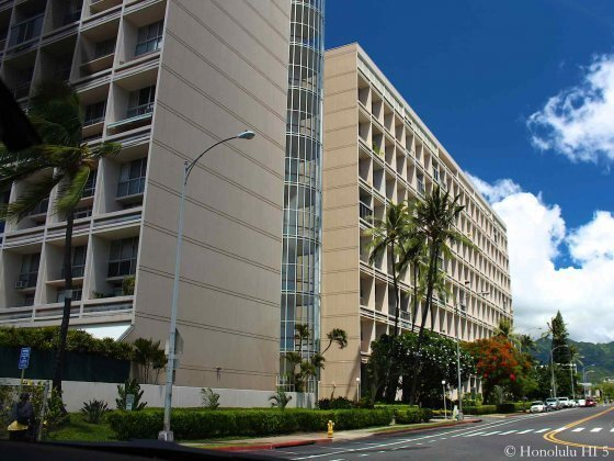 Ala Wai Plaza Condo in Honolulu - Low-rise Older Building