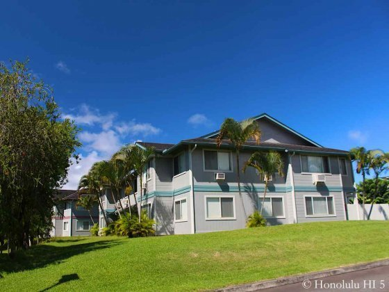 Hillsdale in Mililani Mauka Condos with Beautiful Lush Green Around