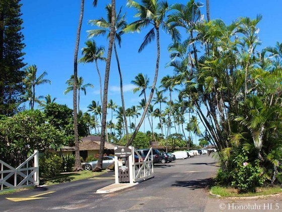 Mokuleia Beach Colony Entrance