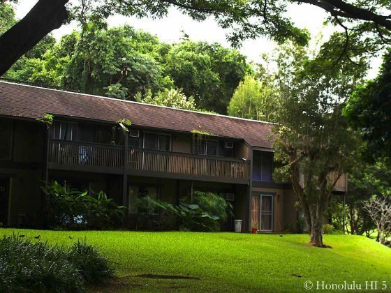 Kahalemanu Townhomes in Kaneohe Nestled in Lots of Lush Green