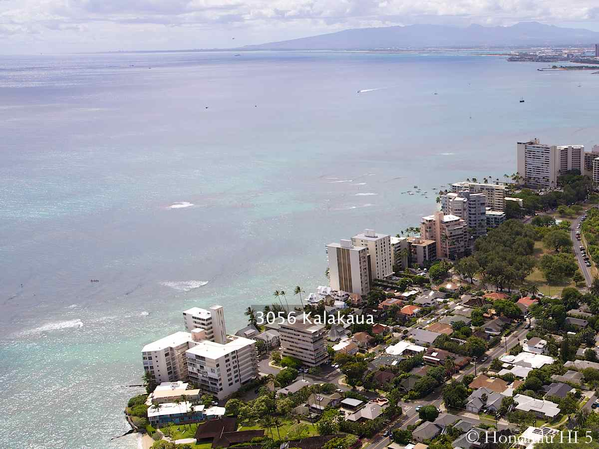 3056 Kalakaua Condos Nestled Among Gold Coast Condos