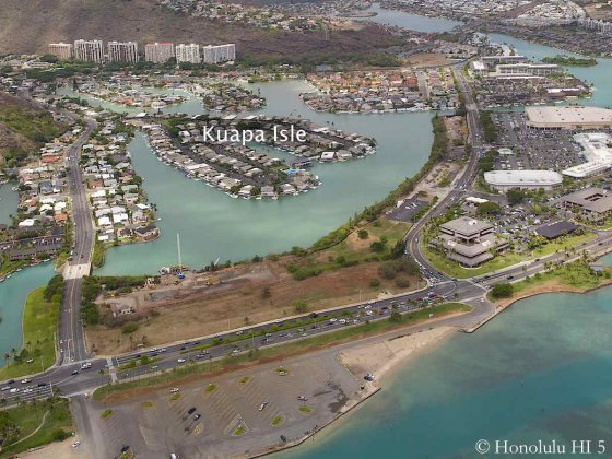 Kuapa Isle Hawaii Kai Aerial Photo