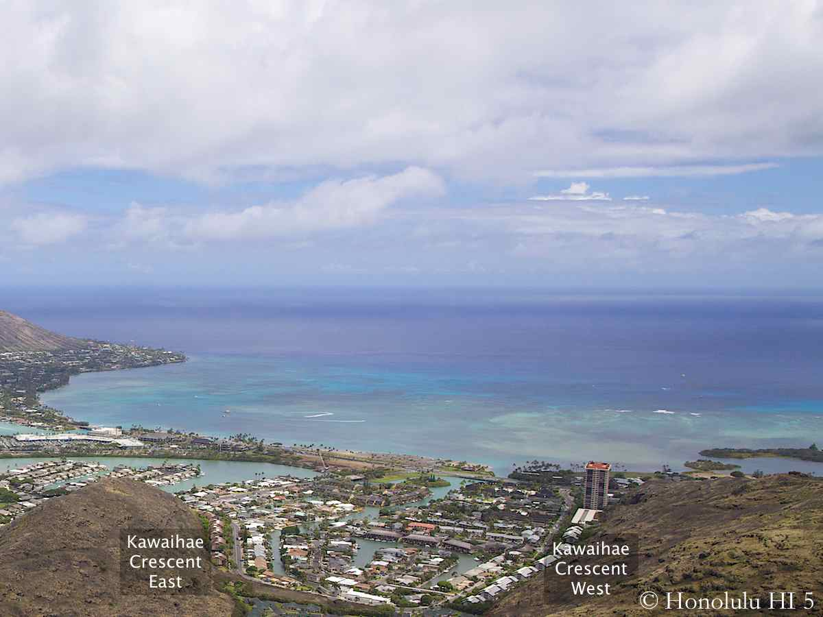 Kawaihae Crescent Hawaii Kai Aerial Photo