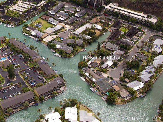 Hawaii Kai CP Lots Aerial Photo