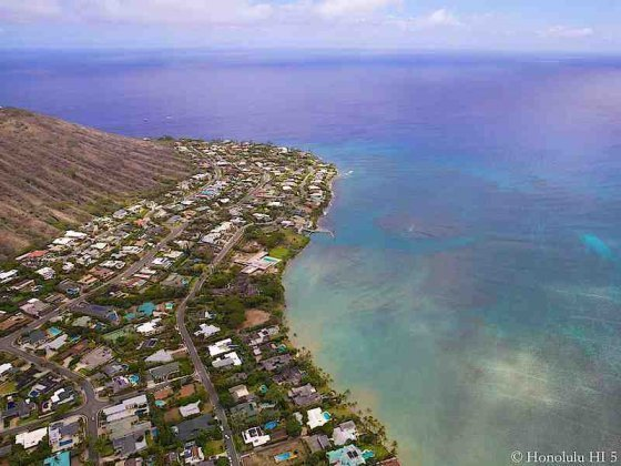 Portlock Homes - Aerial Photo