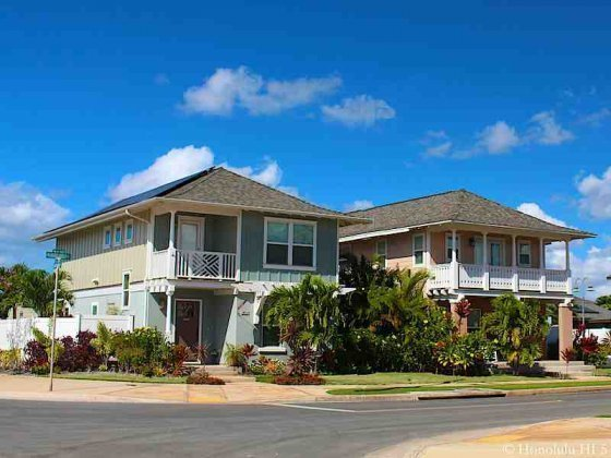 Newer Homes in Ewa Gentry