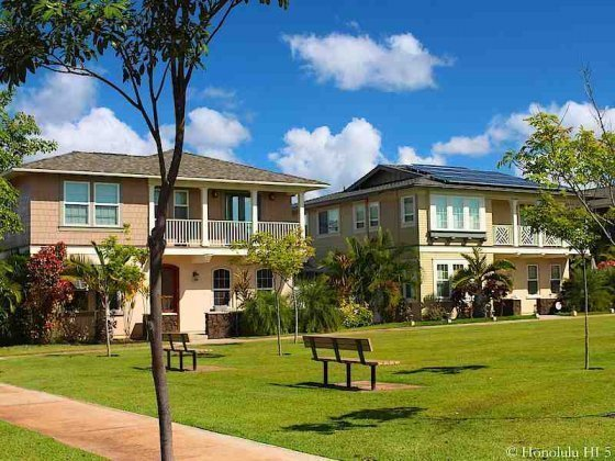 Two Story Townhomes in Ewa Gentry