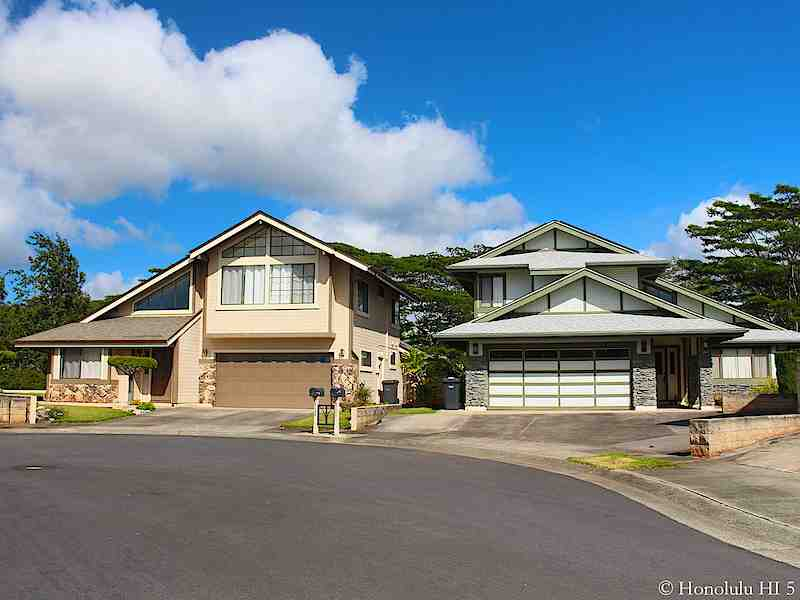 Two Homes in Mililani Mauka at End of a Cul-De-Sac