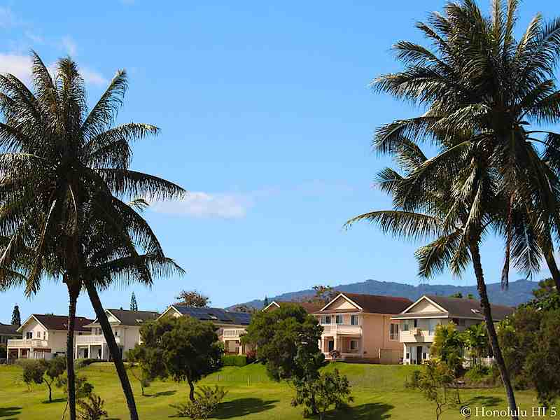 Waikele Townhomes Fronting Golf Course