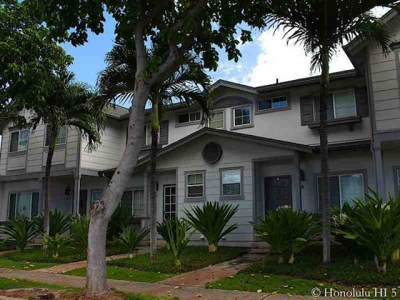 Mariners Place Townhomes in Ewa