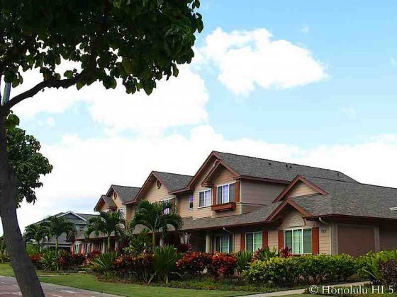 Town Homes at Fairways Edge in Ewa's Ocean Pointe Area