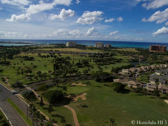 Ko Olina Golf Course, Homes and Ocean
