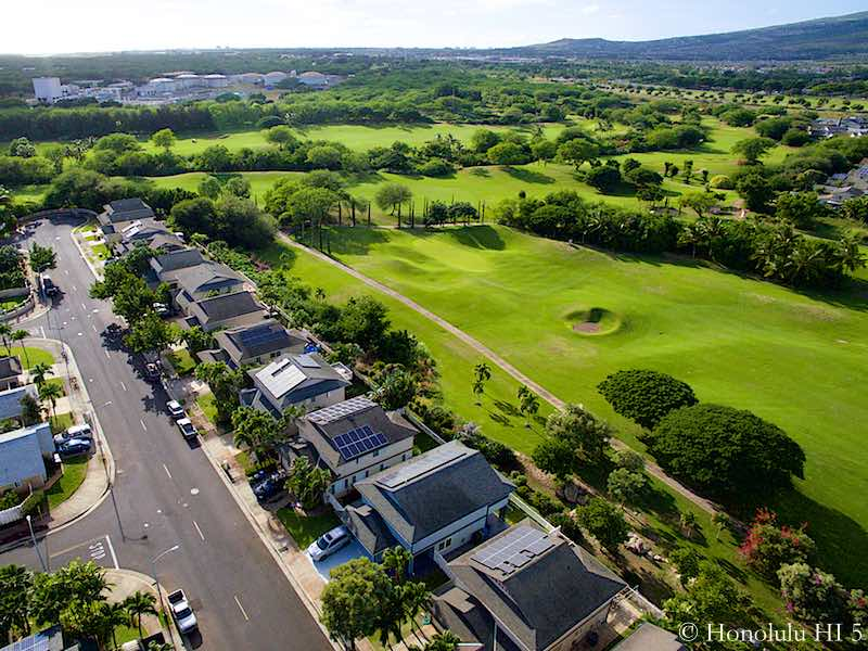 Sun Terra South Homes in Ewa Gentry On Golf Course