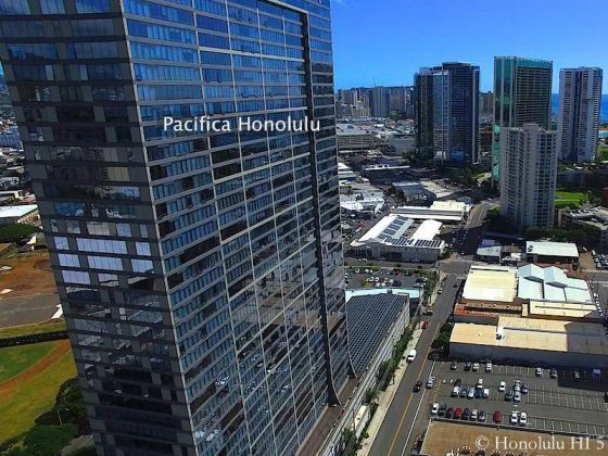 Pacifica Honolulu Drone Photo