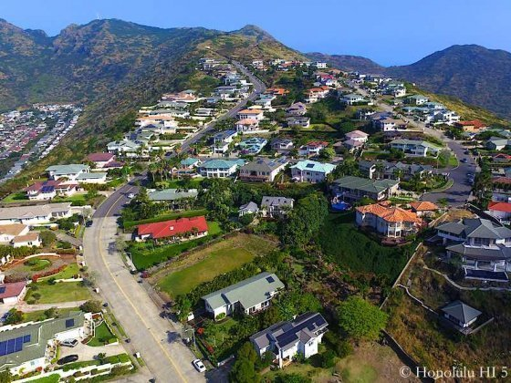 Napali Haweo Homes - Drone Photo