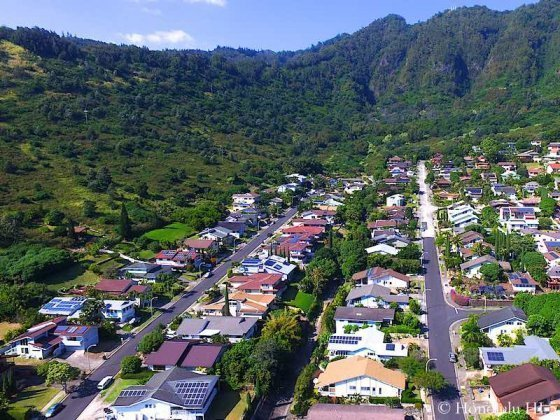 Hahaione Homes Drone Photo