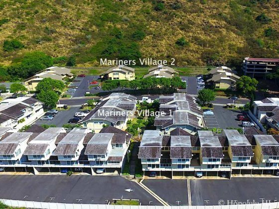 Mariners Village 1 and 2 in Hawaii Kai - Aerial Photo