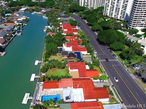 West Marina Hawaii Kai Marina Front Homes