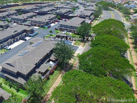 Nohona at Kapolei Section Two and Three - Aerial Photo