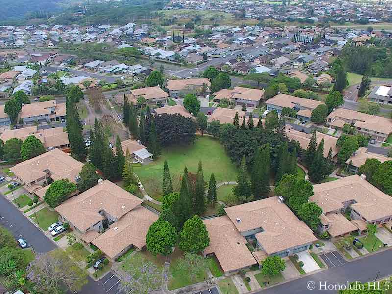 Hampton Court Mililani Mauka - Aerial Photo