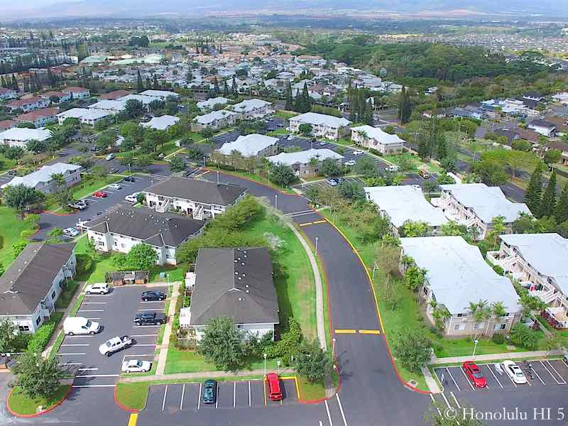 Northpointe Townhomes Mililani Mauka - Aerial Photo