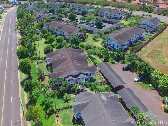Aerial Photo of Highlands at Waikele Townhouses