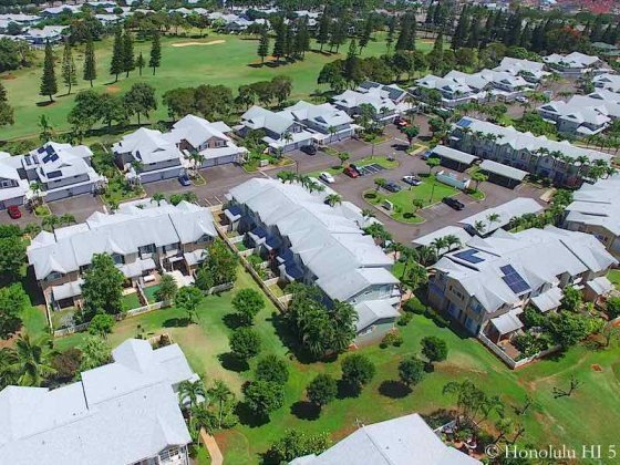 Village on the Green Waikele - Aerial Photo