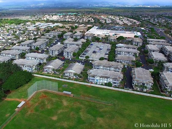 Sun Rise Townhomes in Ewa - Aerial Photo
