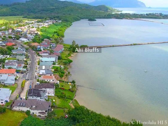Alii Bluffs Kaneohe Homes - Aerial Photo