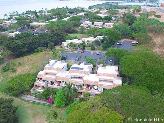 Yacht Club Knolls Townhomes - Aerial Photo