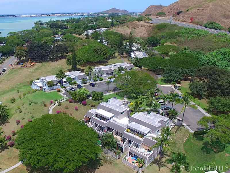 Yacht Club Terrace Kaneohe - Aerial Photo