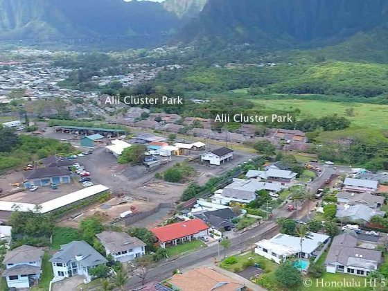 Alii Cluster Park Kaneohe Townhomes - Aerial Photo