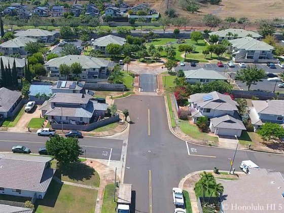 Malanai Iki Townhomes Kapolei - Aerial Photo
