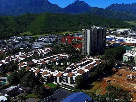 Gardenia Manor Kailua - Aerial Photo