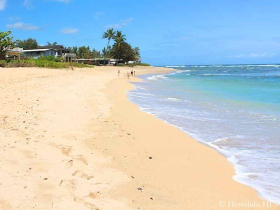 Haleiwa Beach - Pristine White Sandy Beach