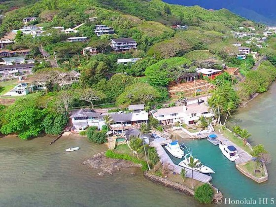 Lulani Ocean House With Private Boat Dock