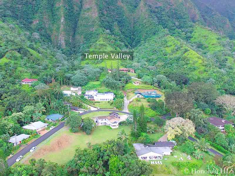 Temple Valley Homes in Kaneohe - Aerial Photo