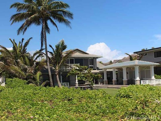 Kailua Beachside Home Among Lush Green