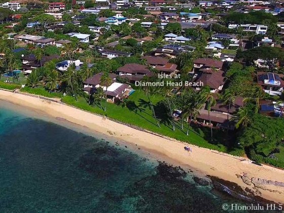 Isles at Diamond Head Beach Homes - Aerial Photo