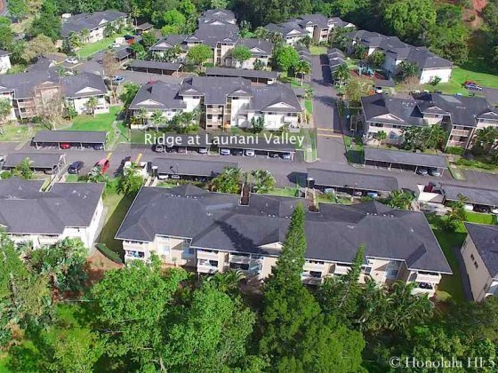 Ridge at Launani Valley Condo - Aerial Photo