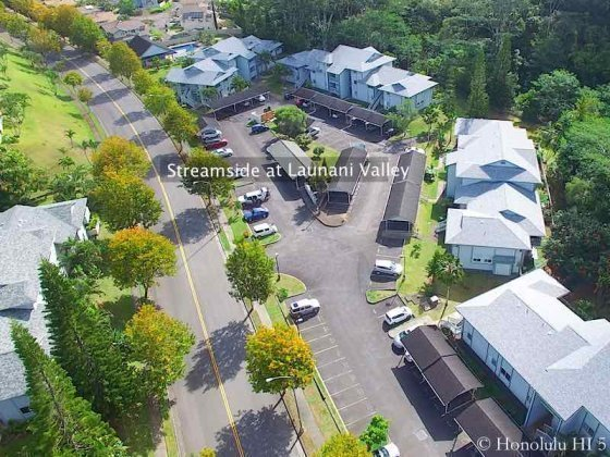 Streamside at Launani Valley Condo - Aerial Photo