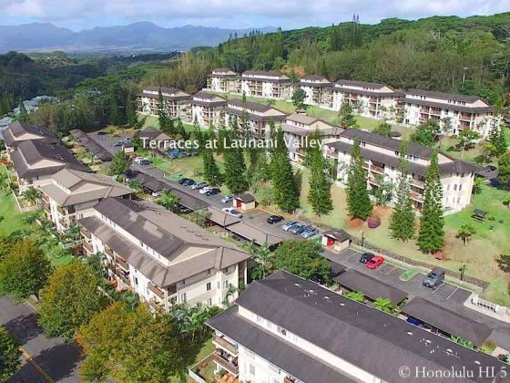 Terraces at Launani Valley Condo - Aerial Photo