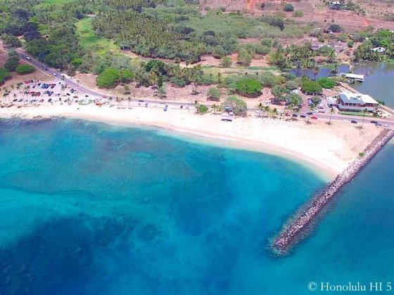 Haleiwa Beach - Aerial Photo