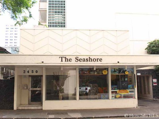 The Seashore Waikiki Entrance