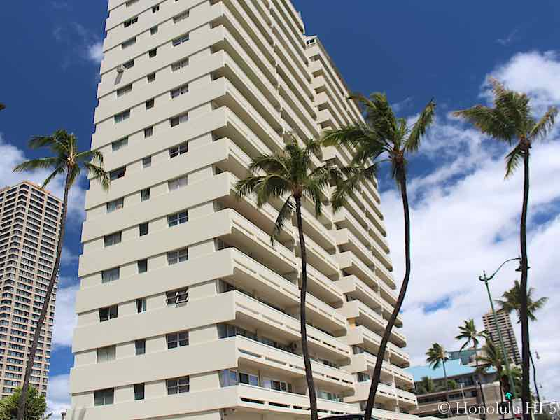 The Twin Towers Waikiki